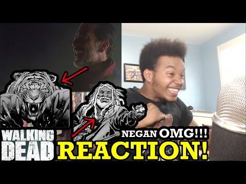 The Walking Dead Season 7 Trailer REACTION!