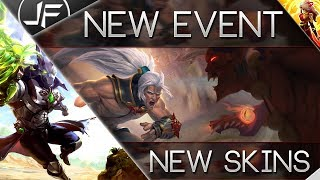 Paladins- OB 68 Siege On Ascension Peak Event and Skins!