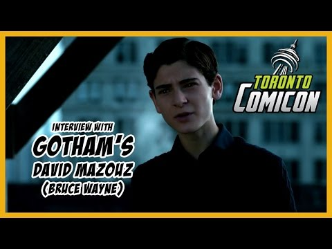 Gotham's David Mazouz (Bruce Wayne) Interview | Toronto Comicon 2017