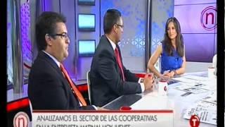 12/09/2012. Debate en Castilla-La Mancha Televisión sobre el sector cooperativo