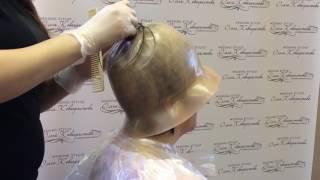 Мелирование стрижка женская