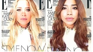 Get the Olsen Look: Mary-Kate's Elle Magazine Cover Thumbnail
