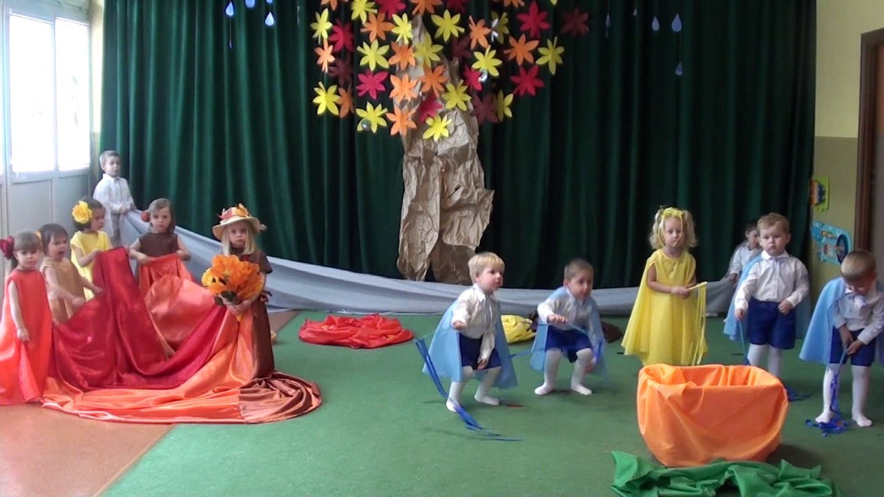Jesienny Taniec Niepubliczne Przedszkole Danapis W Nowym Sączu