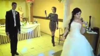 Песня невесты жениху прикольно,смотреть всем!