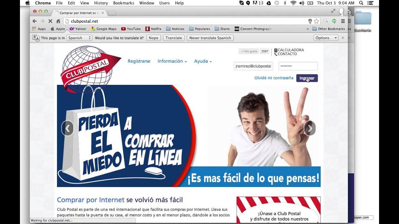 81c181ed1803 Guía de compras | Club Postal