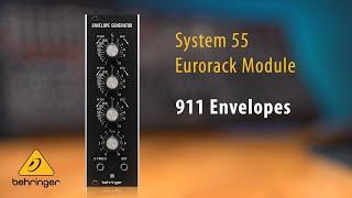 911 Envelope Generator Eurorack Module