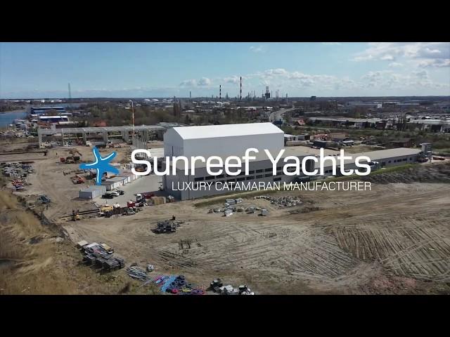 New Sunreef Yachts shipyard under construction