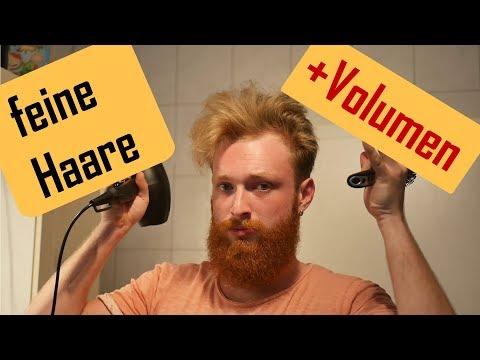 Massiges Volumen für dein dünnes Haar? So gehts!