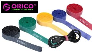ORICO CBT-1S кабельные стяжки/липучки. Распаковка и обзор. Алиэкспресс.