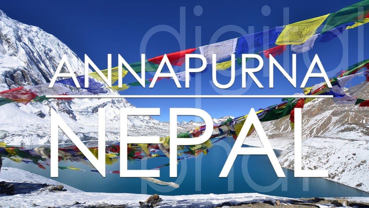 Annapurna Circuit - Trekking Nepal Himalaya (13days in 15min) Annapurna Runde