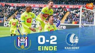 🎬 Anderlecht - KAA Gent (0-2)