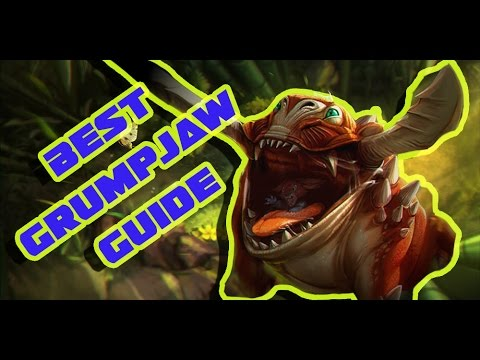 BEST GRUMPJAW GUIDE | VAINGLORY | GAMEPLAY, BUILDS AND TIPS FOR THE NEW HERO!