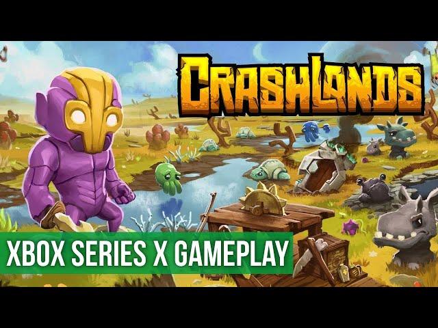 Crashlands - Gameplay (Xbox Series X) HD 60FPS