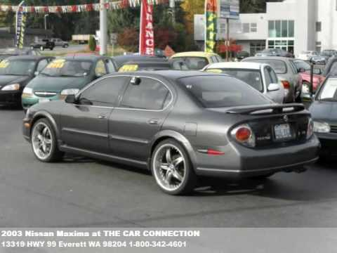 2003 Nissan Maxima 9995 At The Car Connection In Wa Youtube