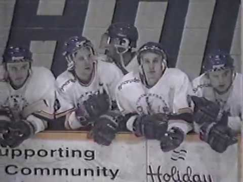 Ft.McMurray Oil Barons vs Olds Grizzlies 1994 AJHL Finals - Game 4 part 1