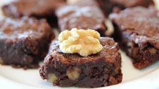 Walnut Cocoa Brownies Recipe - Holidays Special - Cookingwithalia - Episode 289