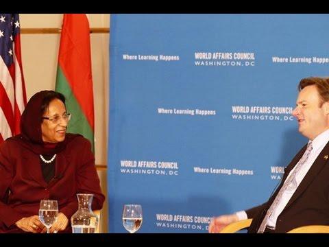 World Affairs TODAY: Ambassador of Oman, H.E. Hunaina Sultan Ahmed Al Mughairy