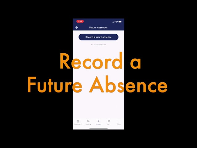 Record a Future Absence in 30 Seconds Flat!