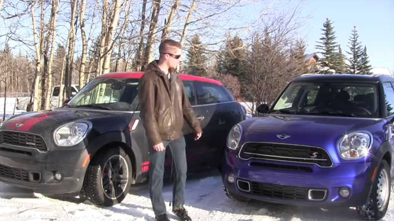 Mini Countryman Cooper S >> Mini Countryman S vs Mini Paceman JCW Winter Review - The