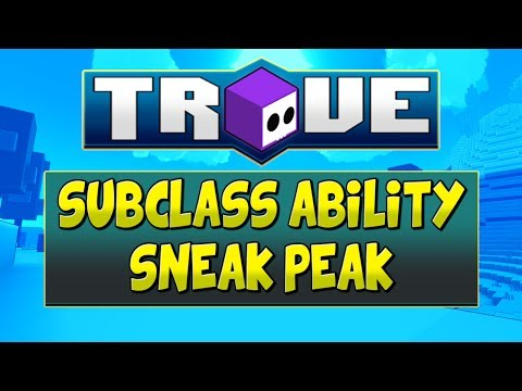 SNEAK PEAK AT TROVE SUB-CLASS ABILITY FOR EVERY CLASS! - Chinese Test Server
