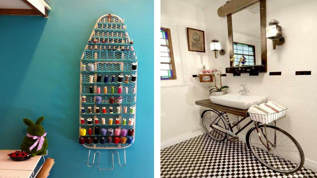 50 creative ideas for home decoration 2017 recycle from for Making of decorative item from waste material