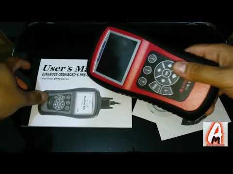 Autel OBD2 Code Reader Maxidiag Elite MD802 All System Car Diagnostic Scan Tool (Review)