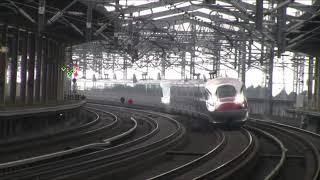 東北新幹線通過シーン3連発!