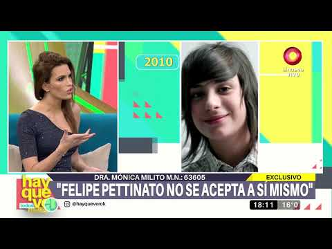 Doctora Mónica Milita habla de la salud de Felipe Pettinato