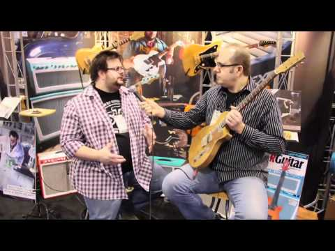 Interview with Dennis Fano of Fano Guitars  •  NAMM 2012