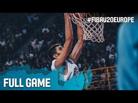Greece v Spain - Full Game - Semi-Finals - FIBA U20 European Championship 2017