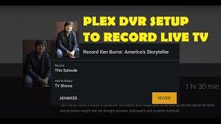 NVIDIA SHIELD TV How To Setup Plex DVR To Record Live TV