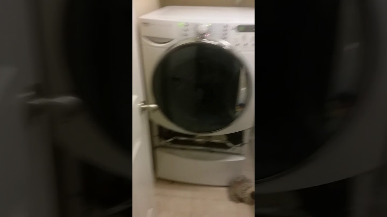 Fixing Kenmore Elite He5t Steam Washer With Sud Error And