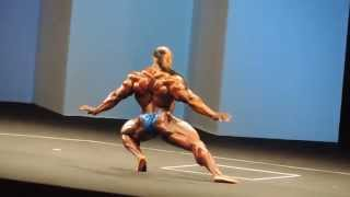 Kai Greene posing routine Arnold Classic Europe 2013 HD