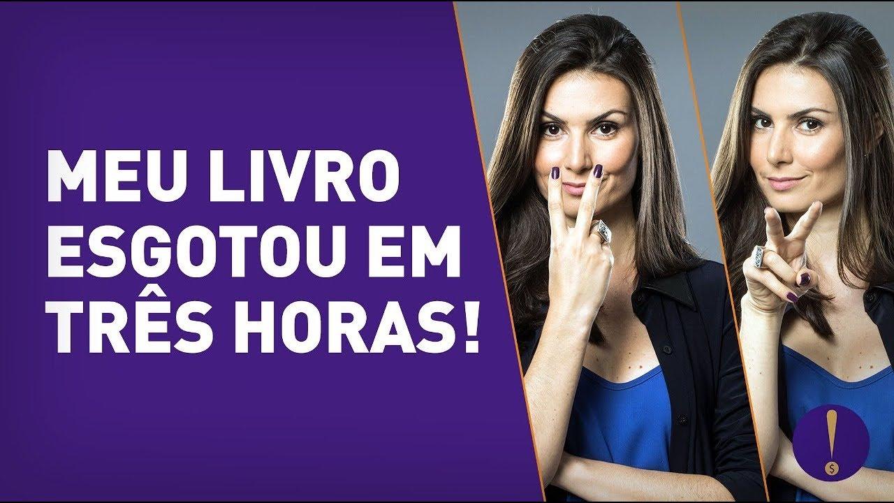 LIVRO esgotado EM TRÊS HORAS! Lançamento do MEU LIVRO EM SÃO PAULO! Por Nathalia Arcuri