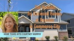 New Homes in Commerce City Colorado - Hudson Model by Oakwood Homes at Reunion