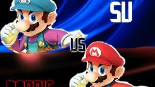 Super Smash Bros Wii U Friendlies: SU(Mario Alt) Vs Donnie(Mario)(Round 2)