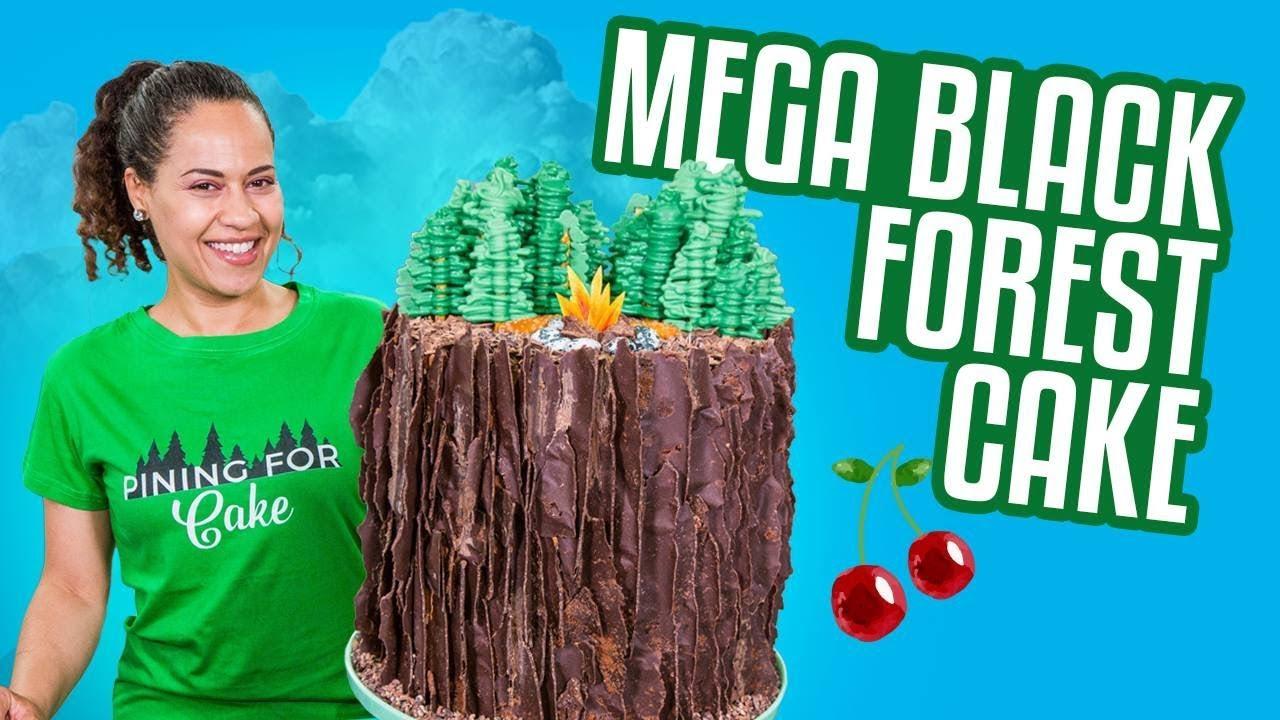 BLACK FOREST Mega Cake!! | How To Cake It