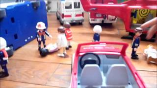 Playmobil - caserne des pompiers