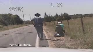 Patient State Trooper Helps Feisty Elderly Woman Gone Astray in Mobility Scooter
