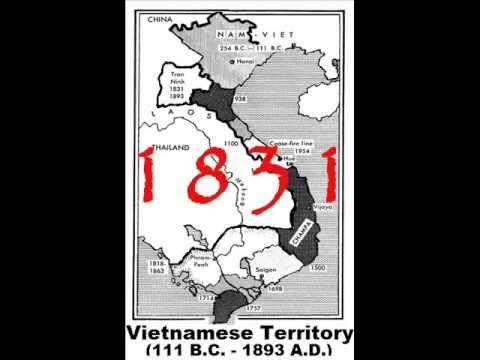 Vietnamese Dynasty Map