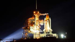 STS-134 Rotating Service Structure Retract Time Lapse