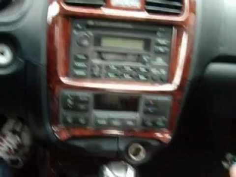hqdefault hyundai sonata 2005 radio bezel youtube 2004 hyundai sonata radio wiring diagram at alyssarenee.co