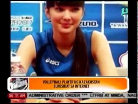 Balitaan - Sports Ngayon: 'Volleyball player' ng Kazakhstan, sumisikat sa Internet [08/08/14]