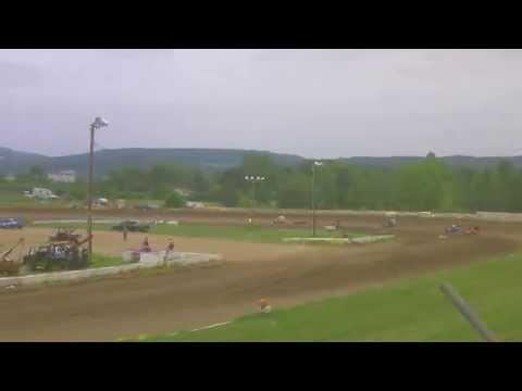 Five Mile Point Speedway Slingshots 6-20-15 Heat Race