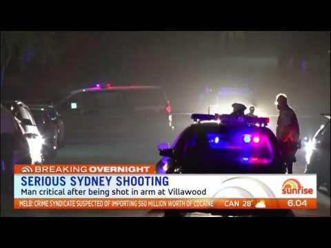 Man Shot - Villawood, Sydney (2017)