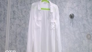 Лайфхак: как погладить одежду без утюга (24.12.15)