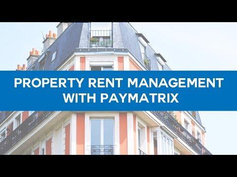 Property Rent management with Paymatrix