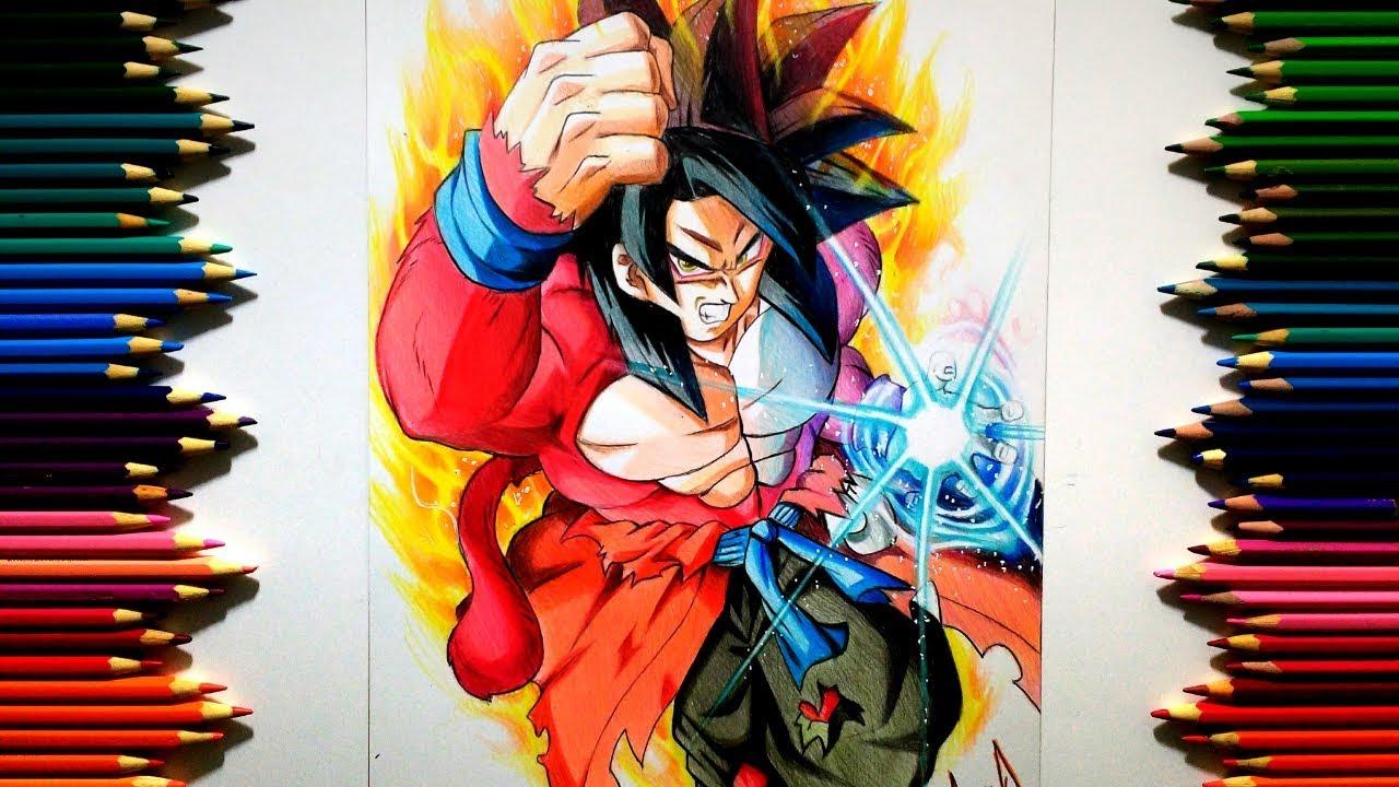 Goku Xeno SSJ4 ( Dragon Ball Heroes ) [ ドラゴンボール