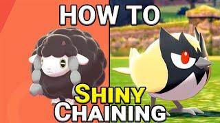 Die SHINY-CHAIN Methode!    Pokémon SCHILD & SCHWERT Tutorial