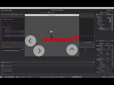 Godot Engine - Tutorial Series (10 touchscreen buttons/viewport zoom)
